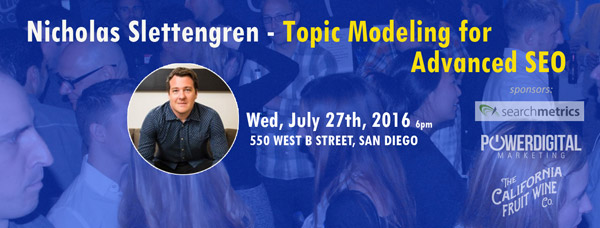 Topic Modeling for Advanced SEO with Nicholas Slettengren