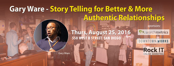 Storytelling for Better Engagement & More Authentic Relationships w Gary Ware