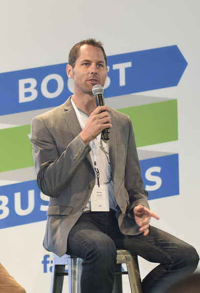 Boost Your Business with Facebook at the Port Pavilion on Broadway Pier on Thursday, June 4, 2015 in San Diego. (Photo by Denis Poroy/Invision for facebook/AP Images)