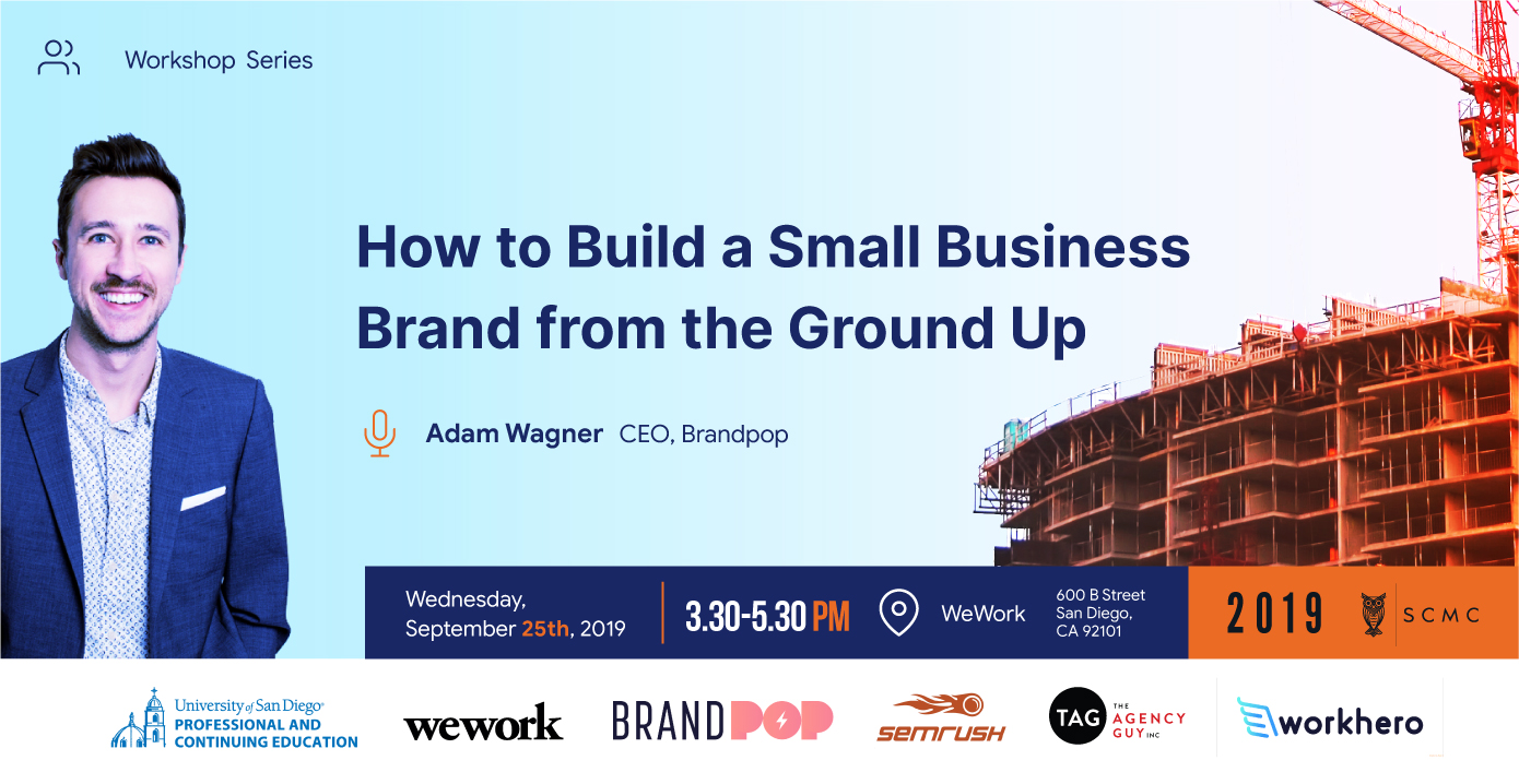 WORKSHOP: How to Build a Small Business Brand from the Ground Up